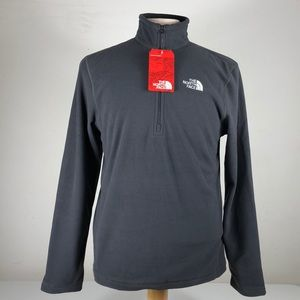 Asphalt Gray  Men's  North Face Glacier Fleece